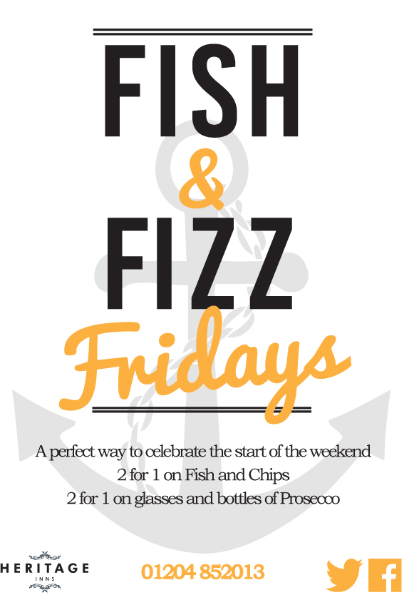 Friday - Fish & Fizz Night